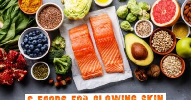 6 Foods For Glowing Skin
